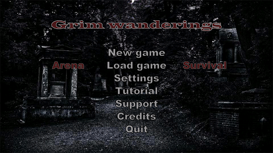 Grim wanderings Screenshot
