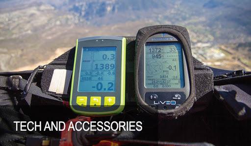 Varios & Gps paragliding tech for sale