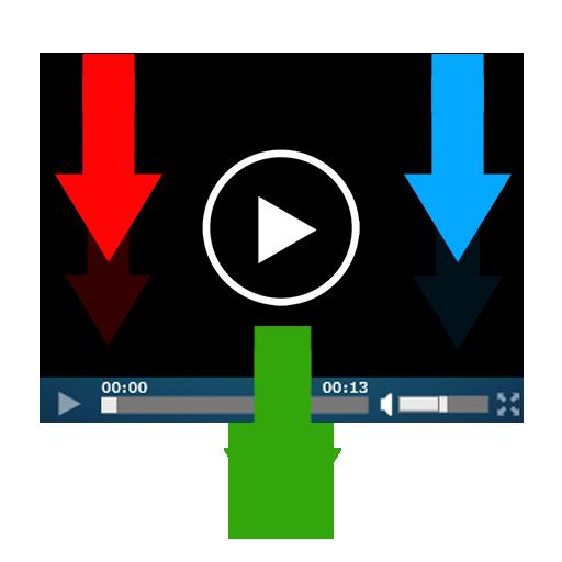تنزيل الفيديو من الانترنت