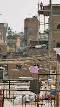 Photo: ein typischer Blick über die Dächer Kathmandus