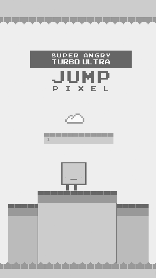 Super Angry Pixel Jump- screenshot