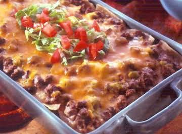 Cheesy Mexican Rice Bake