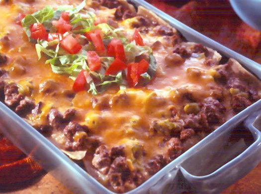 Cheesy Mexican Rice Bake Recipe