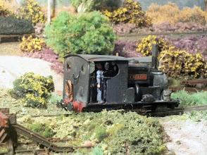 Photo: 016 Creech is certainly not a pretty or dainty loco, but does project a certain hard working and duly scarred image which gives the model great character .