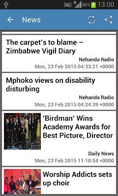 Zimbabwe News & More - screenshot