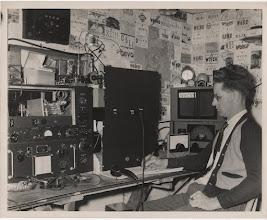 Photo: W8YNN William Tron 1948 Dayton OH
