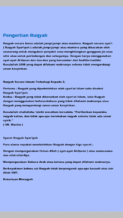 Ruqyah Pendinding Ampuh{MP3} 1.0 screenshot 2092587