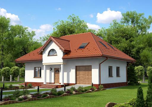 projekt domu Asturia