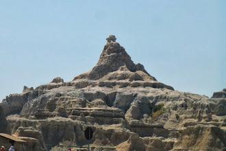 Photo: Looks like that rock is balancing