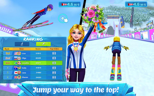 Ski Girl Superstar - Winter Sports & Fashion Game 1.0.7 screenshots 3