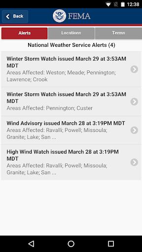 FEMA screenshot