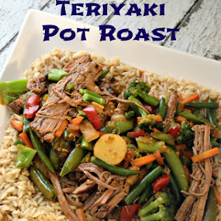 Slow Cooker Teriyaki Pot Roast