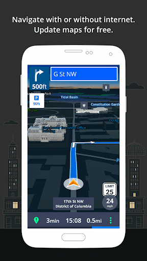 GPS Navigation & Maps Sygic screenshot 2