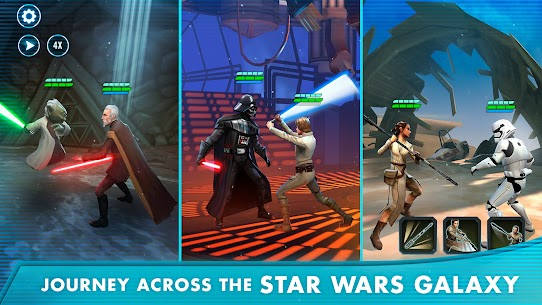 Download Star Wars: Galaxy of Heroes Android Star Wars role-playing game + mod 1
