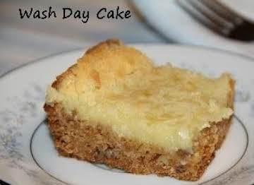 WASH DAY CAKE