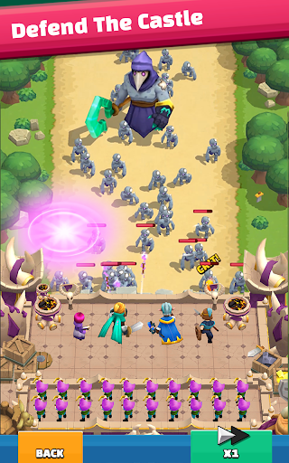 Wild Castle: 3D Offline Strategy Defender TD  screenshots 1