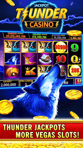 Thunder Jackpot Slots Casino - Free Slot Games screenshots 15