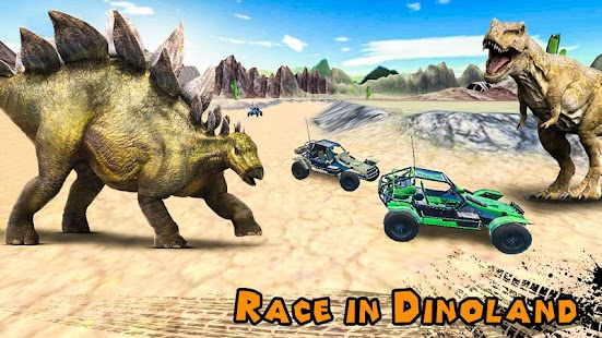 Dino World Car Racing - náhled