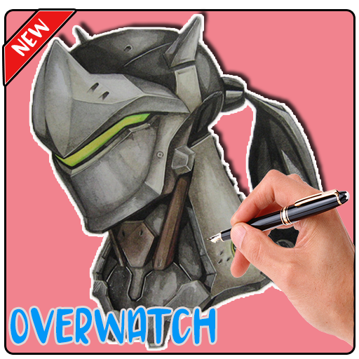How To Draw Overwatch Step By Step (app)