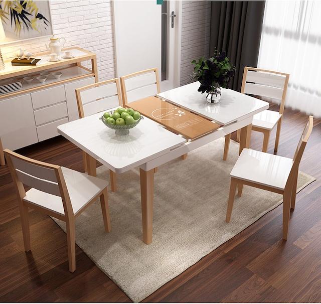 Hãy đến với nội thất xếp gọn mạnh tùng tại hcm khi có nhu cầu mua bàn ăn thông minh