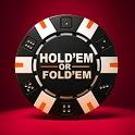 Holdem or Foldem - Poker Texas Holdem icon