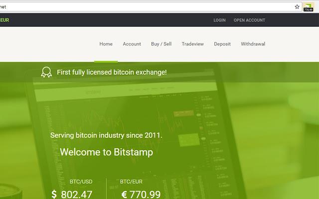 BitStamp EUR