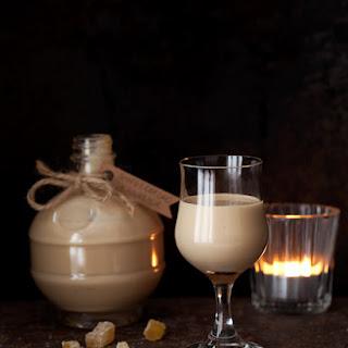 Homemade Gingerbread Cream Liqueur.