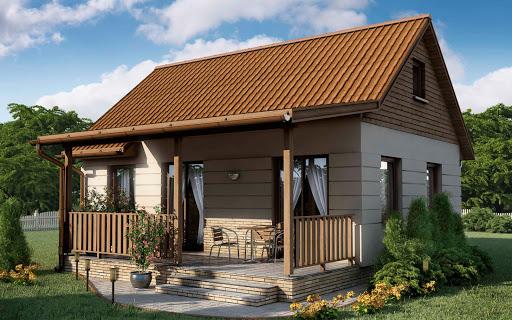 projekt D57 - Luiza wersja drewniana