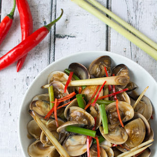 Asian Stir-Fried Clams