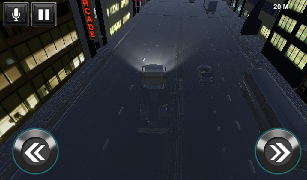 Crazy Truck Traffic Simulator- screenshot