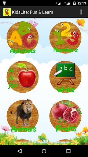 KidsLite: ABC 123 Animal Shape