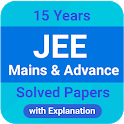 15 Years Jee Main , Advance & AIEEE Solved Papers icon