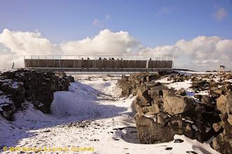 Photo: Bridge between continents, Reykjanes Penninsula, Sandvik, Iceland