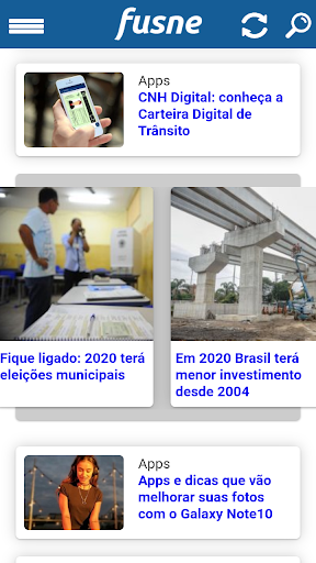 Notu00edcias - Fusne.com screenshots 1