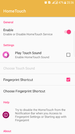HomeTouch for Samsung Galaxy v1.2.5