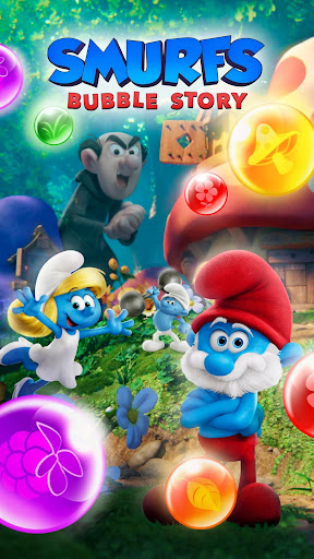 Smurfs Bubble Shooter Story 2.15.050204 screenshots 8