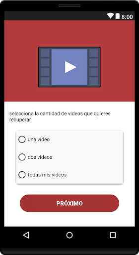 recuperar videos borradas : video&eliminados for PC