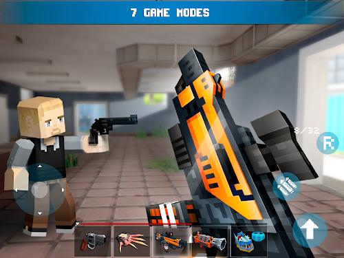 Screenshot 2 Mad GunZ - Battle Royale, online, shooting games 1.9.1 APK MOD