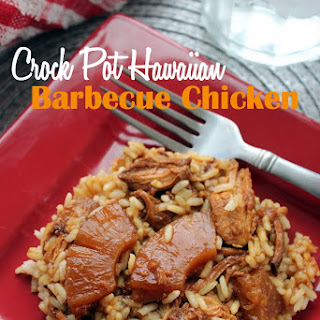 Crock Pot Hawaiian Barbecue Chicken.