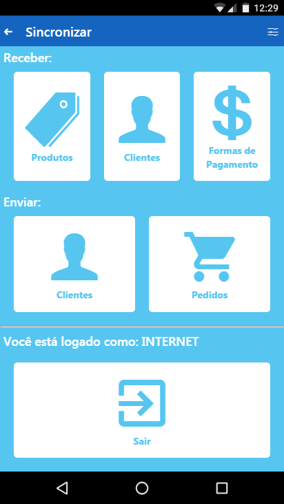 Intersig Pedidos- screenshot