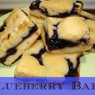 Easy Blueberry Bars.