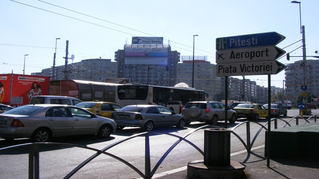 Buses in Bucharest, Romania