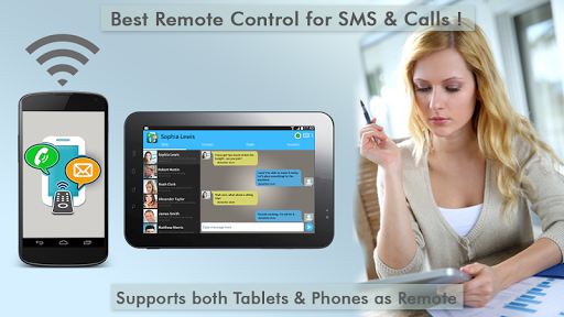 Text Message Tablet SMS Remote