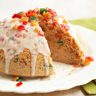 Sugar and Spice Steamed Pudding.