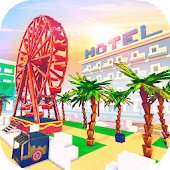 Miami Craft: Blocky City Building Addicting Games