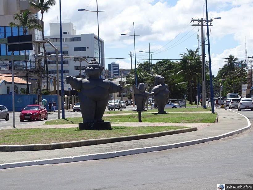O que fazer em Salvador (Bahia) - As Gordinhas de Ondina