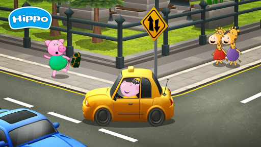 Professions for kids: Driver 3D apkmr screenshots 3