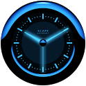 A-BLUE Analog Clock Widget icon