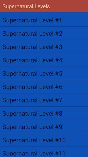 Trivia for Supernatural