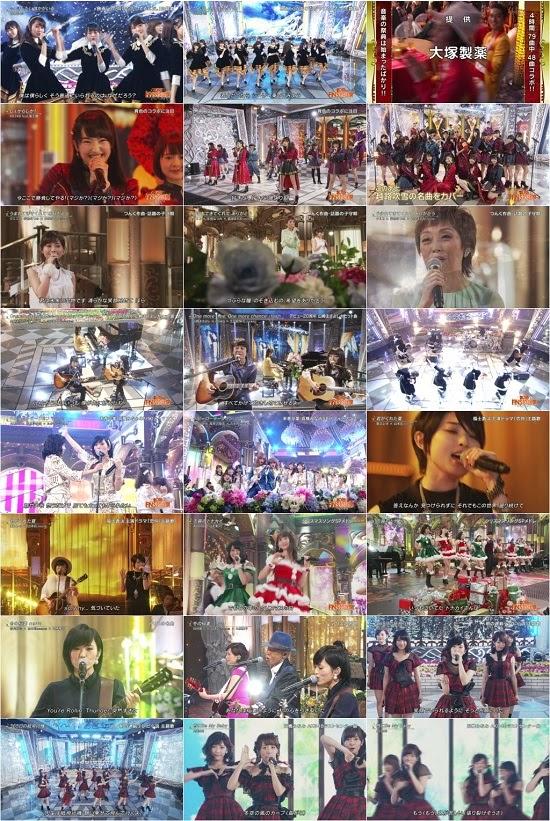 (TV-Music)(1080i) AKB48G 乃木坂46 – 2015 FNS歌謡祭 151202